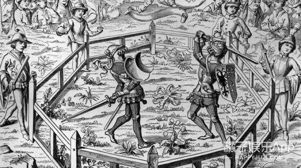 中世纪CP吵架的奇葩决斗仪式...