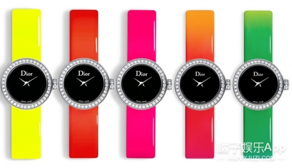 【尖货】Dior的糖果色手表美翻你!