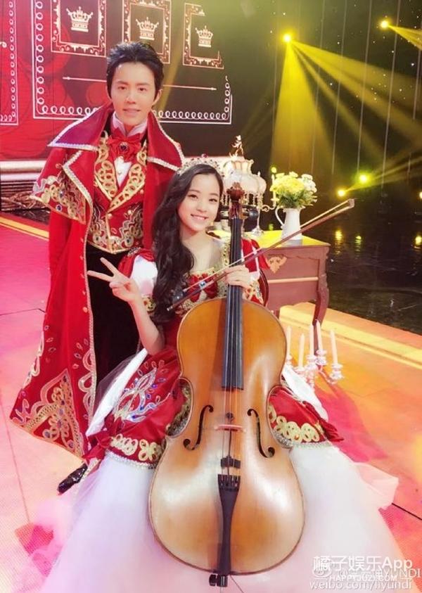 欧阳娜娜和李云迪组新CP,童话里的公主和王子就是这样吧