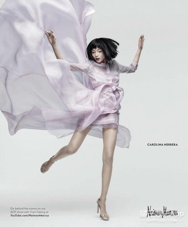 超模雎晓雯成为巴黎欧莱雅的全球代言人啦!这个姑娘你值得拥有