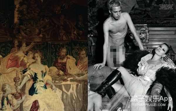 一群男模高清赤裸无遮挡,你也能像Kate Moss一样淡定吗