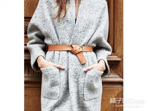 【一衣多穿】腰带真的是时尚神器,随时能扎出百变造型