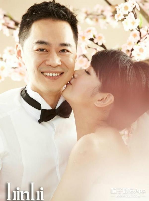 从Selina和张承中的婚纱照里,看到了一些很微妙的东西...