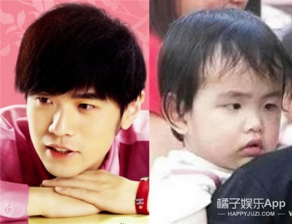 看了这些明星脸的孩子照片,我确定你们的脸绝对是复制粘贴的!