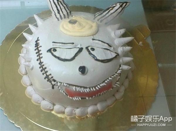 """【奇葩买家秀】有一种蛋糕叫""""这个生日我不太想过了""""…"""