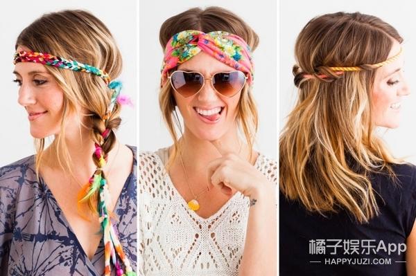 天天琢磨换什么发型,不如选对一款发饰!
