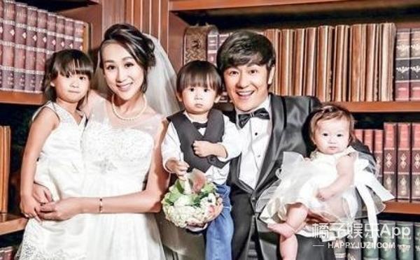 恭喜!陈浩民妻子再生女儿,四年抱四!