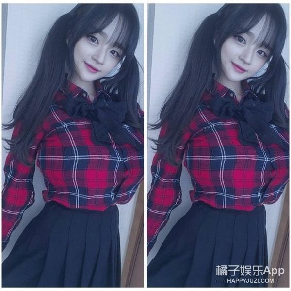 韩国巨胸女老师走红网络,长成这样真的不会吓坏学生?