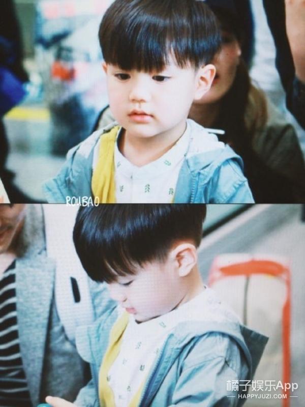 韩国3岁小鲜肉来京,引众人接机还上了热搜,他到底是谁?