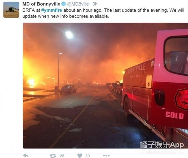 十万人紧急撤离,加拿大燃烧ing