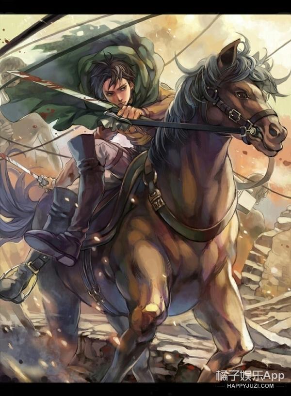 画成这样的巴卫sama,兵长和金木xi,再给宝宝来一打!