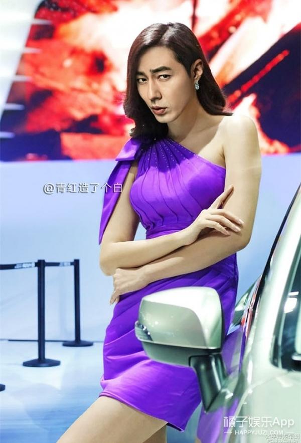 有人把鹿晗、宋仲基、小岳岳的脸P在了女模身上,真是太美了!