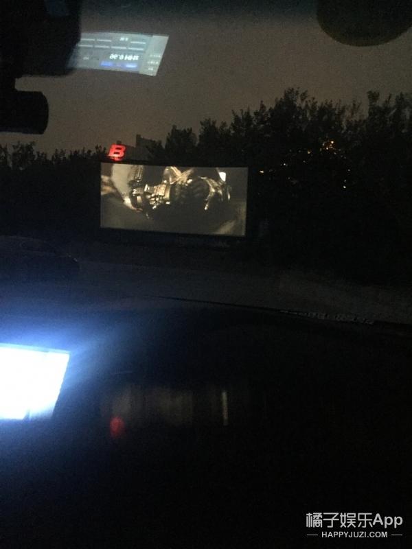 【橘子第一次】橘子君去了探秘汽车电影院,这竟然没有车震!?