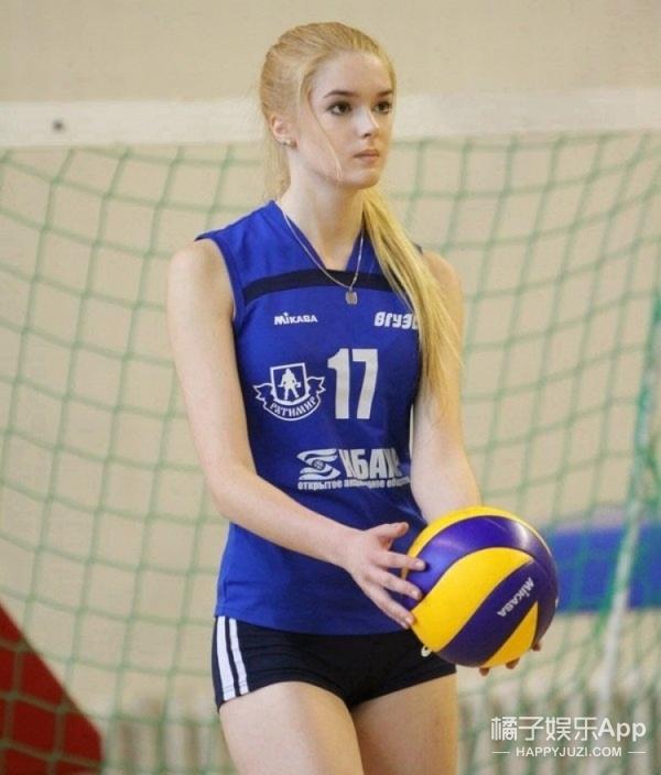 新女神!俄罗斯模特不仅美还是排球主力