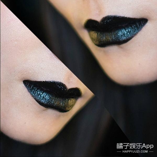 你以为黑色唇膏涂出来就真的是黑色吗?