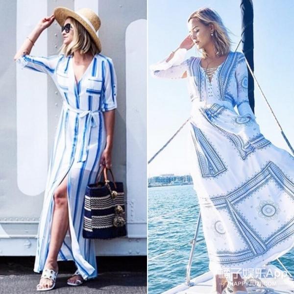 【博主穿啥】暑假快来了,她告诉你度假就要穿长裙!