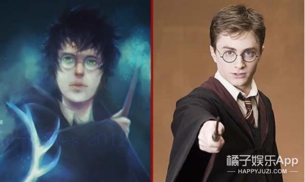 《哈利波特》里的角色如果完全忠于原著的真实模样简直太吓人了!