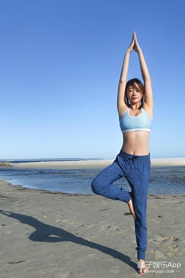 不看胸只看健康好身材  来跟着柳岩做运动吧!