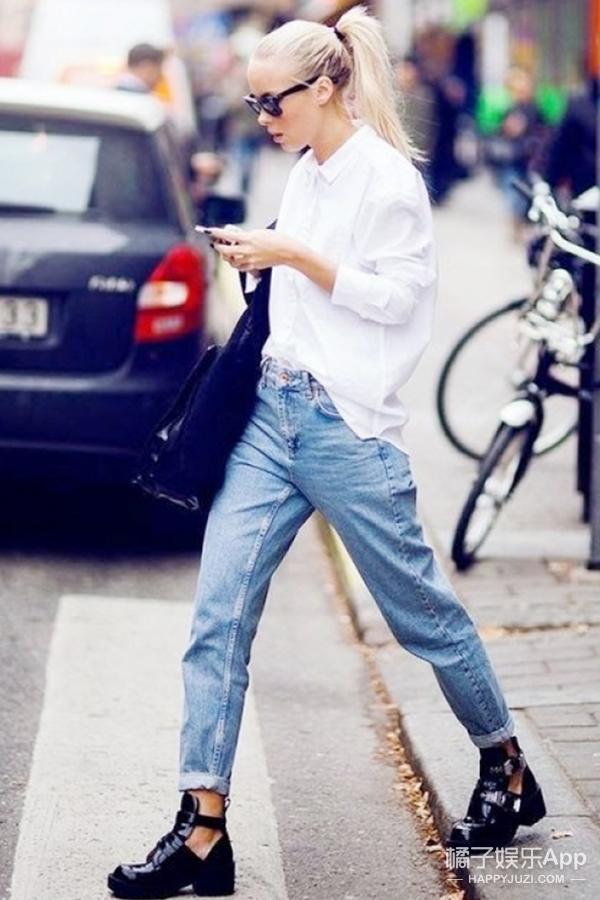白衬衫+牛仔裤太简单?讲真,看完她们你就知道有多高级了!