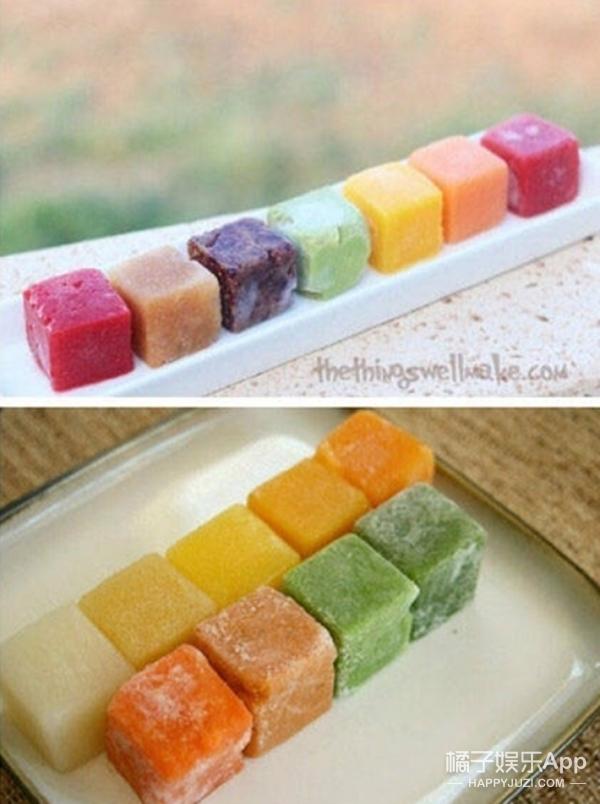 吃冰的季节到啦!这样做出的冰块比冷饮还好吃!
