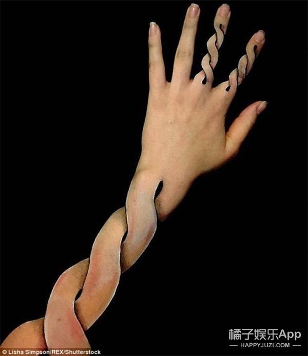澳洲女子的3D手臂,简直不能再酷炫了