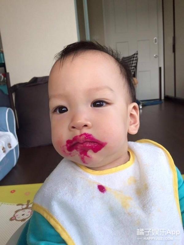 20年后,徐若瑄的儿子肯定又是一个撩妹小能手!
