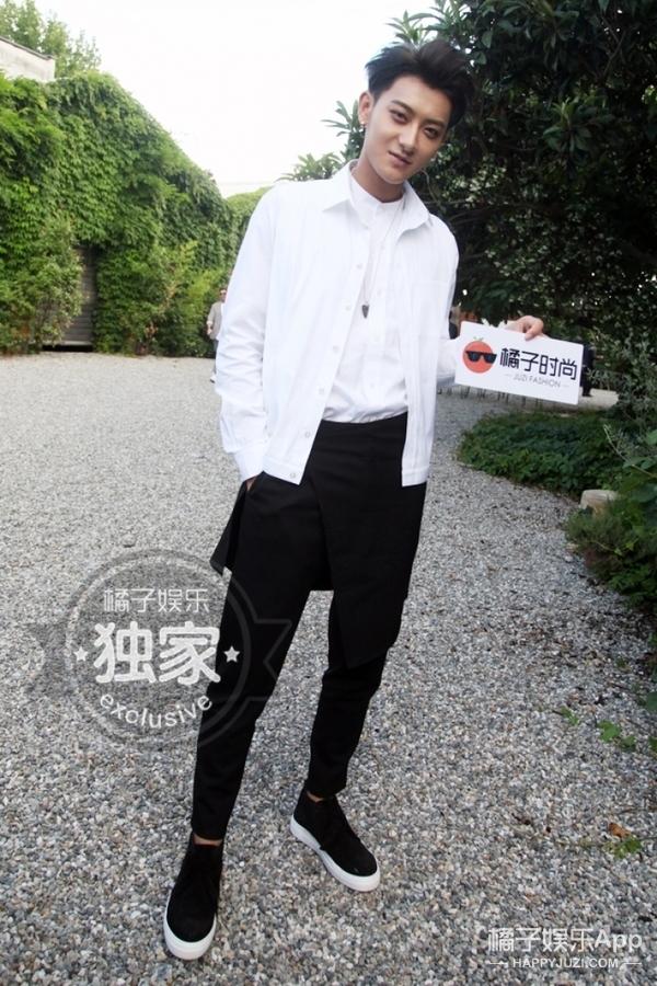 胡歌、黄子韬、张若昀...齐聚米兰男装周,谁家老公造型帅?