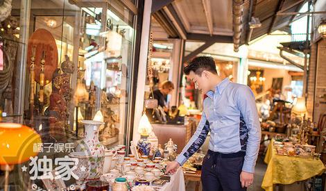 一言不合就去逛跳蚤市场,佟大为眼里的巴黎竟然是这样!