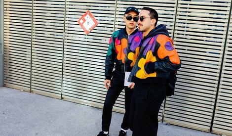 想学潮人怎么穿?先来看看纽约男装周街拍