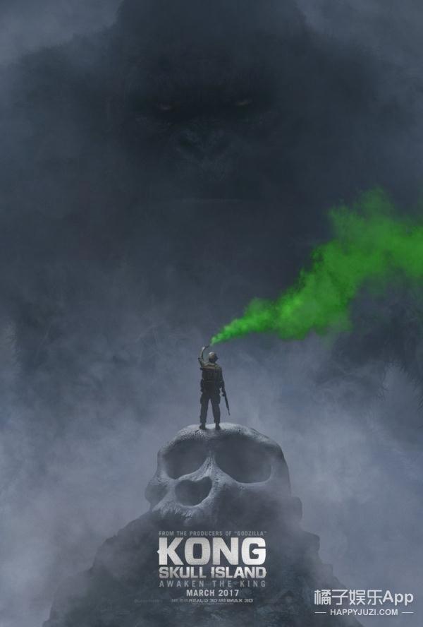 《金刚:骷髅岛》:景甜实力征战好莱坞,演技自带表情包!