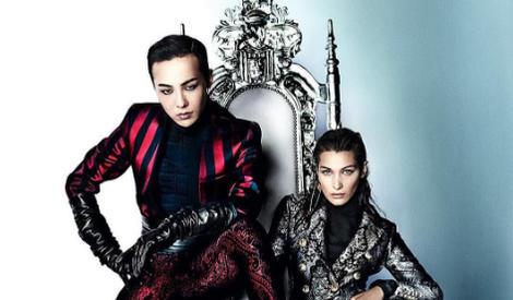 权志龙联手Bella Hadid,把Vogue封面杀出一条帅路!