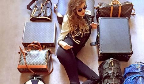 壕无人性 | 这个世界上最会炫富的女人,所有的包加起来够你买套房!