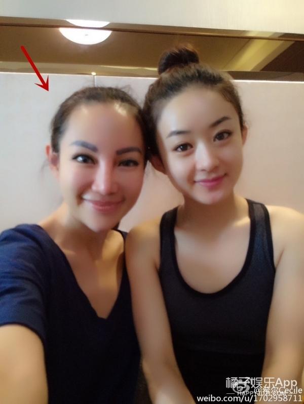 """赵丽颖晒了健身照,不过所有人都在关注她的""""蛇精脸""""营养师"""
