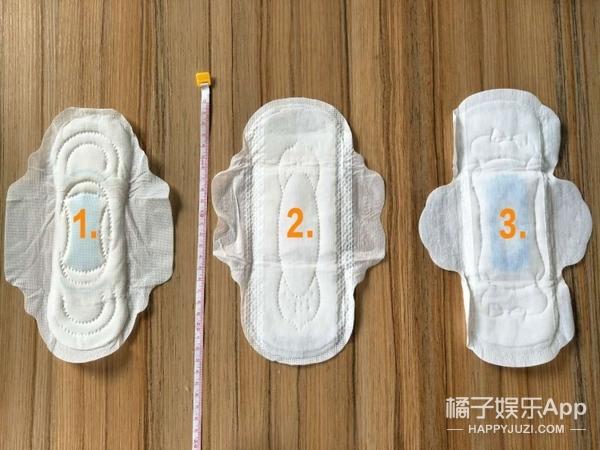 橘子亲测!卫生棉条、卫生巾各种经期用品到底能吸多少血?