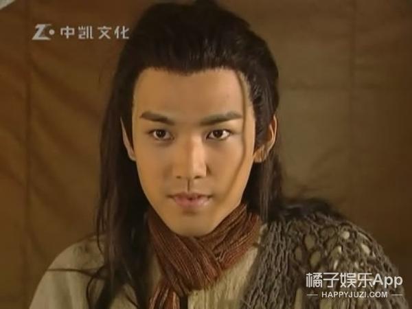 【老照片】《幻城》里火王胡兵,其实是一代型男啊