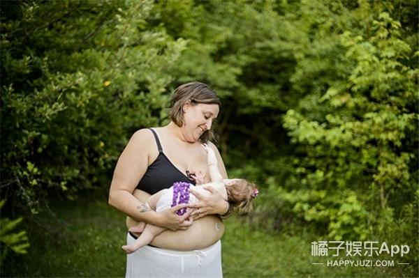 摄影师分享母乳喂养时刻:满满都是爱