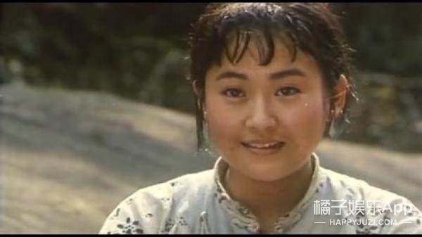 25年前的许晴,竟然有点儿像贾玲...
