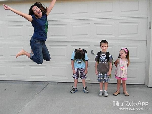 熊孩子假期终于要结束,国外这群爹妈再也抑制不住内心的冲动了