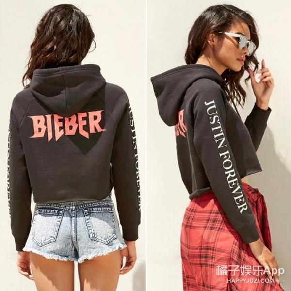 【买买买】Justin Bieber设计的衣服才要200块!估计他做设计师会饿死吧!
