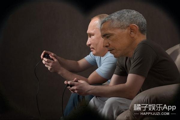 奥巴马与普京,本应是马里奥与路易吉的关系……果然被P图了XDDD