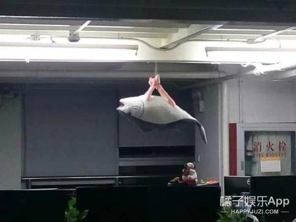 【奇葩买家秀】咸鱼玩偶被玩坏,孤零零的掉在办公室!
