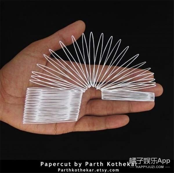 天了噜,这些纸雕作品要逆天,竟然还有3D的