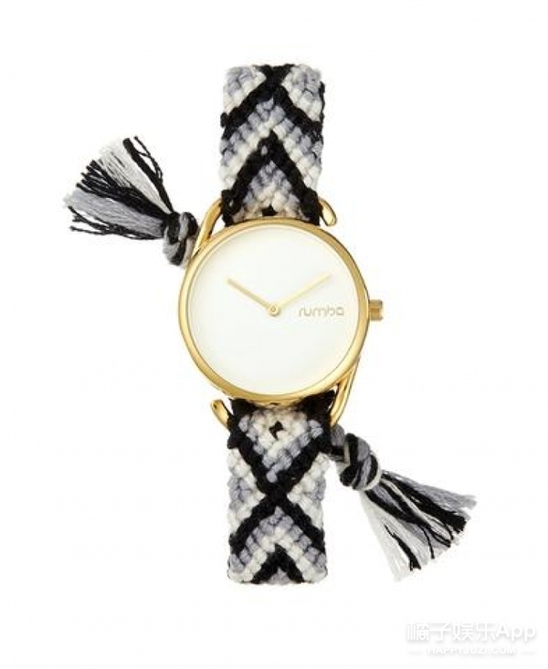 【买买买】好心动!这款美腻的流苏编织手表竟然只要400元!
