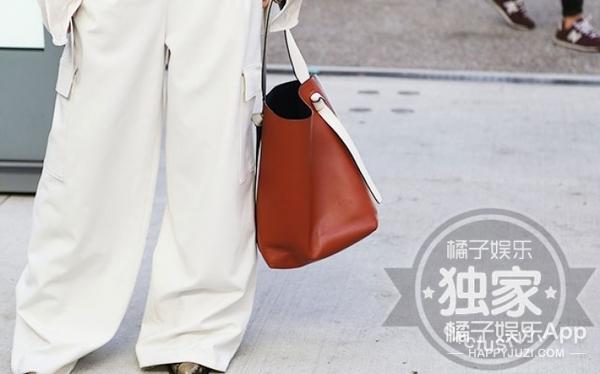 来时装周看秀的她们不仅穿搭好,包包居然都背的这么有品位!