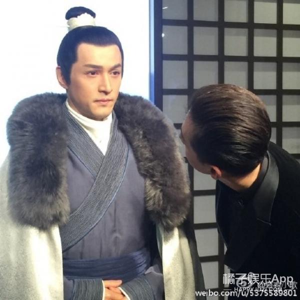 《琅琊榜》梅长苏入驻杜莎夫人蜡像馆,但却被胡歌吃豆腐袭胸了