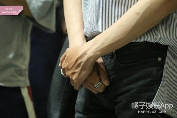 能与王凯的手相媲美的,只有张若昀的手了!青筋暴起太性感了!