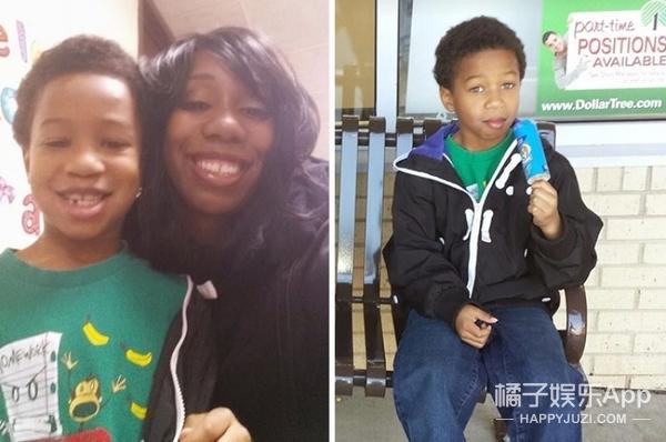 8岁男孩看到患癌小孩因化疗失去头发,决定为其留两年长发送给她