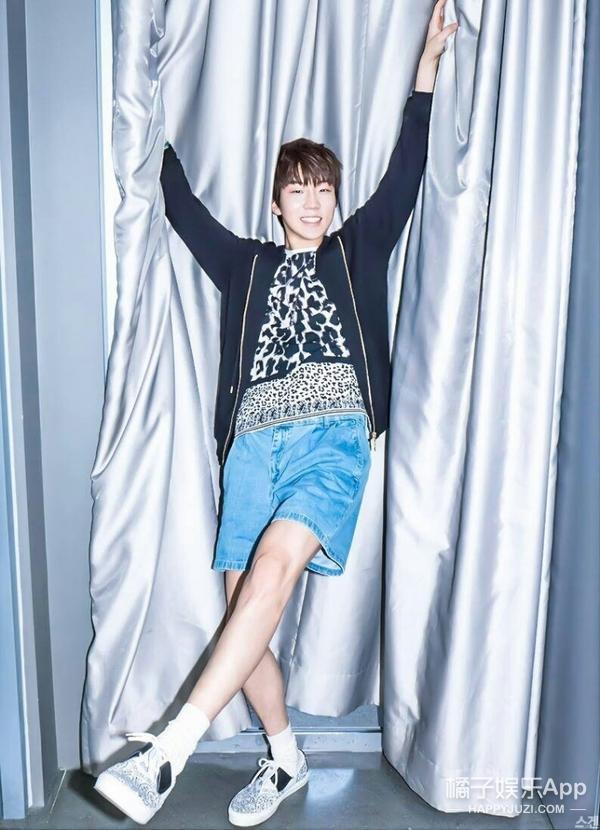 韩国评选了五个美腿男爱豆,看完好想砍掉自己的腿!
