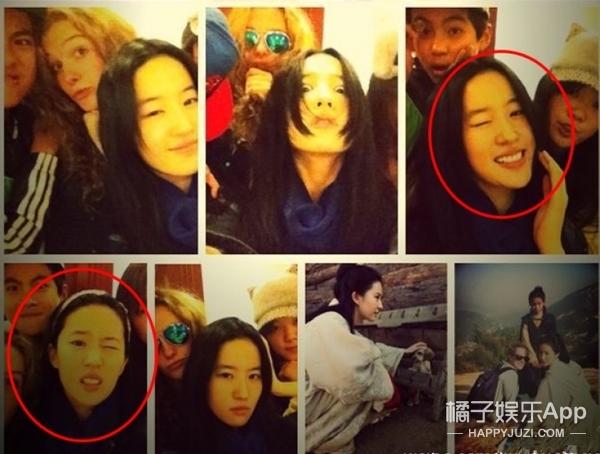 刘亦菲竟然最爱这两个动作,哪是天仙攻明明是软妹萌!