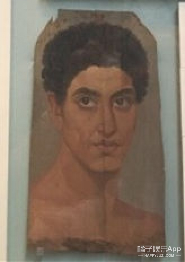 大英博物馆肖像撞脸刘梓晨,八国混血竟然不是闹着玩的?
